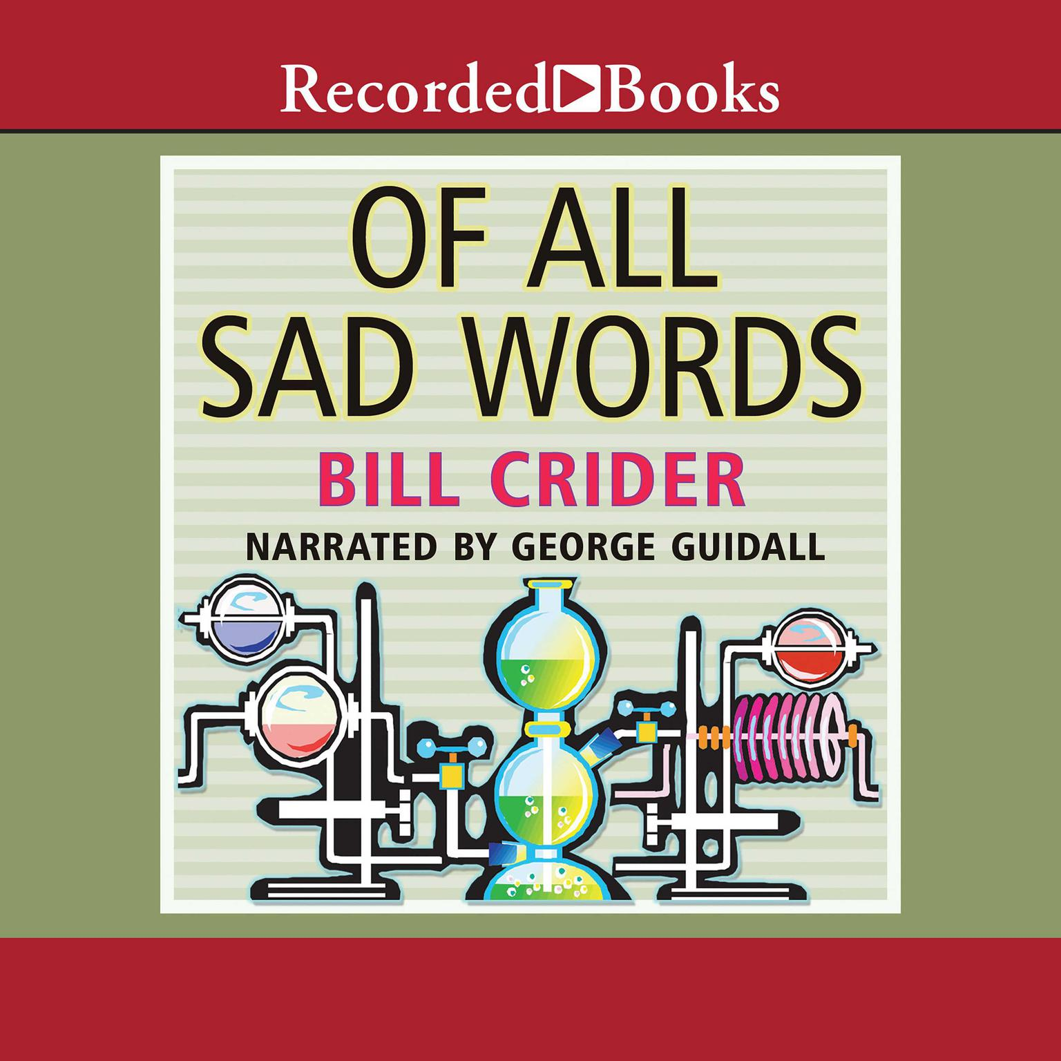 Printable Of All Sad Words Audiobook Cover Art