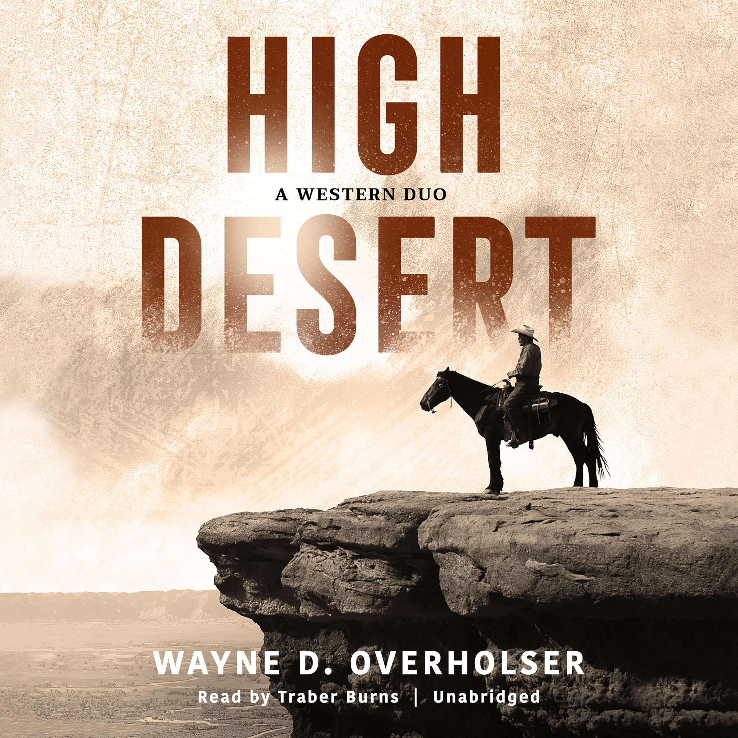 Printable High Desert : A Western Duo  Audiobook Cover Art