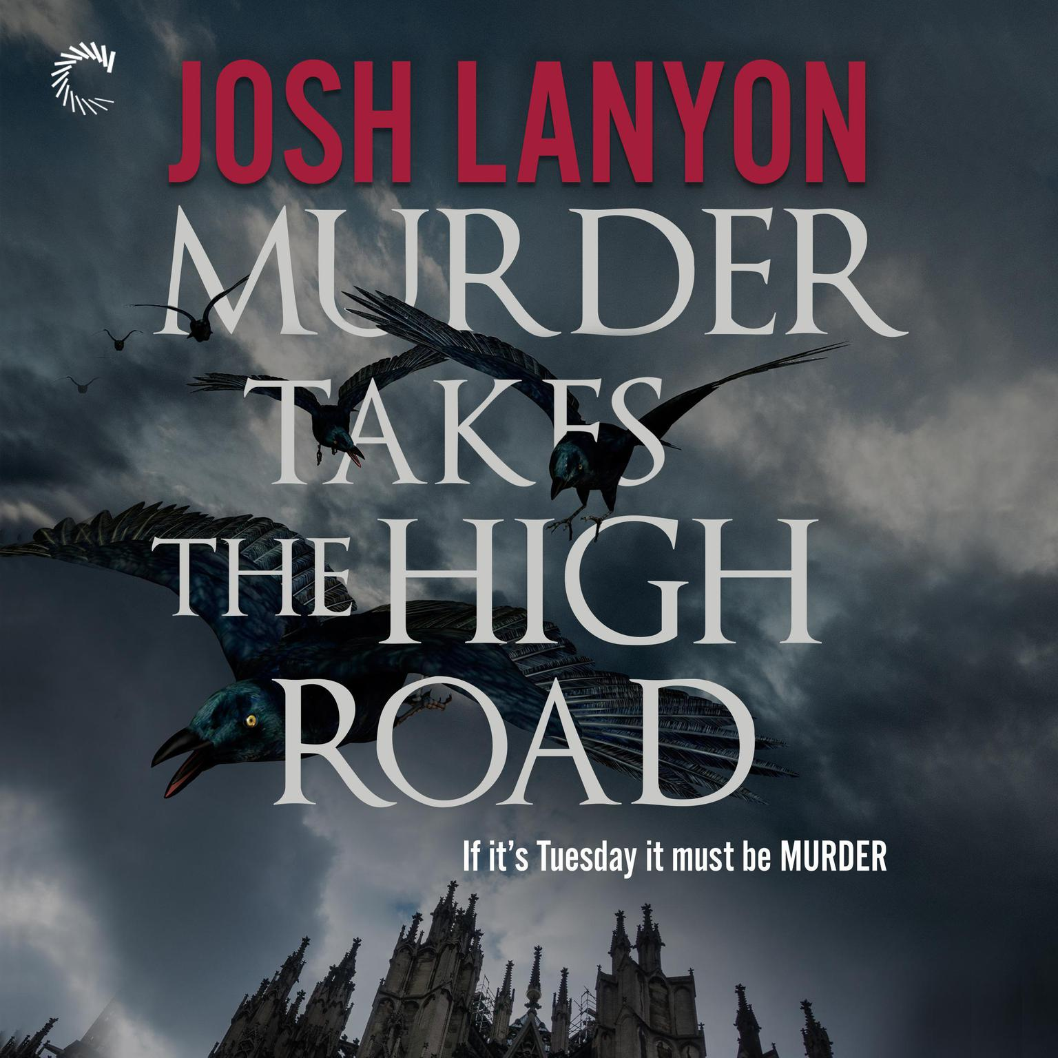 Printable Murder Takes the High Road Audiobook Cover Art