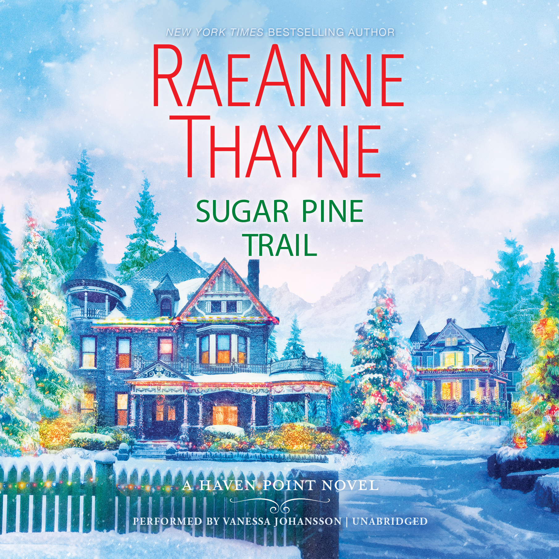 Printable Sugar Pine Trail Audiobook Cover Art