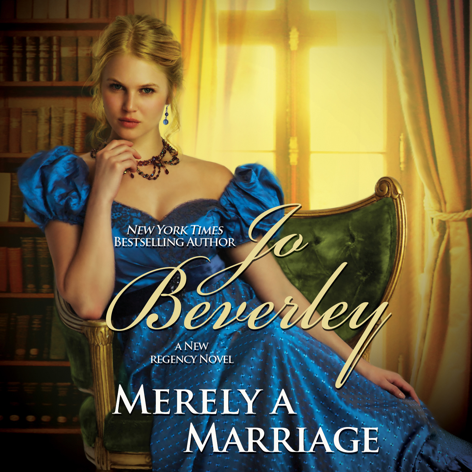 Printable Merely a Marriage: A New Regency Novel Audiobook Cover Art