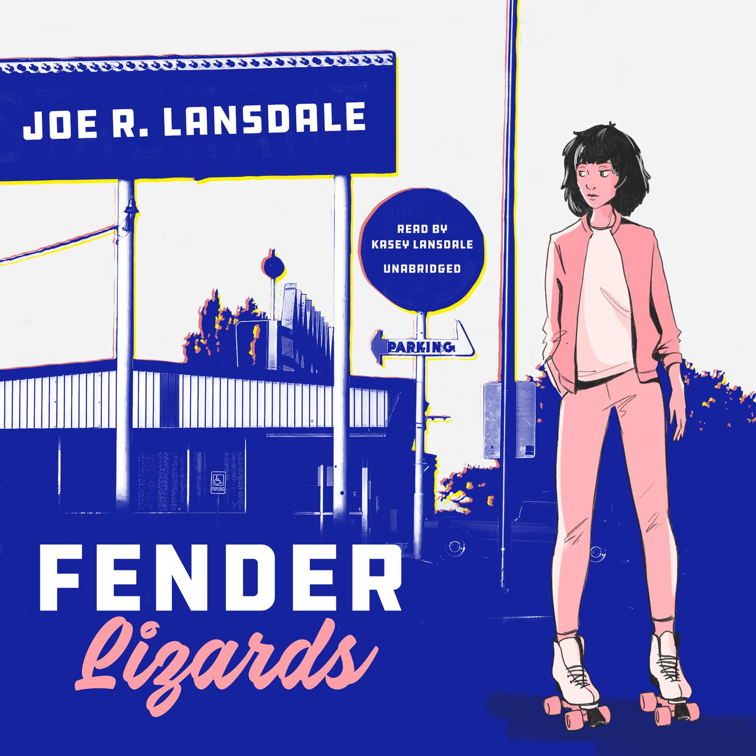 Printable Fender Lizards  Audiobook Cover Art