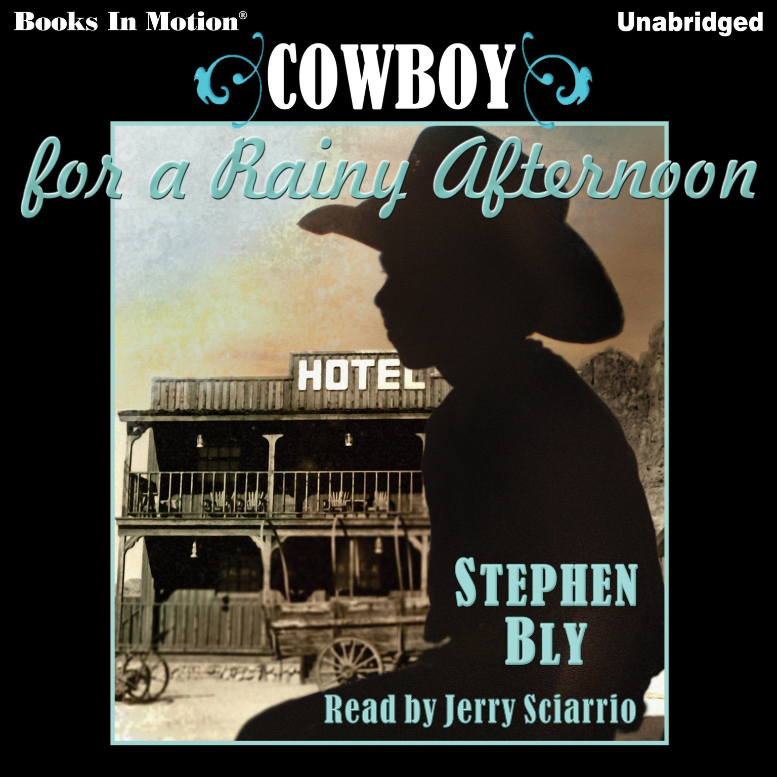 Printable Cowboy For A Rainy Afternoon Audiobook Cover Art
