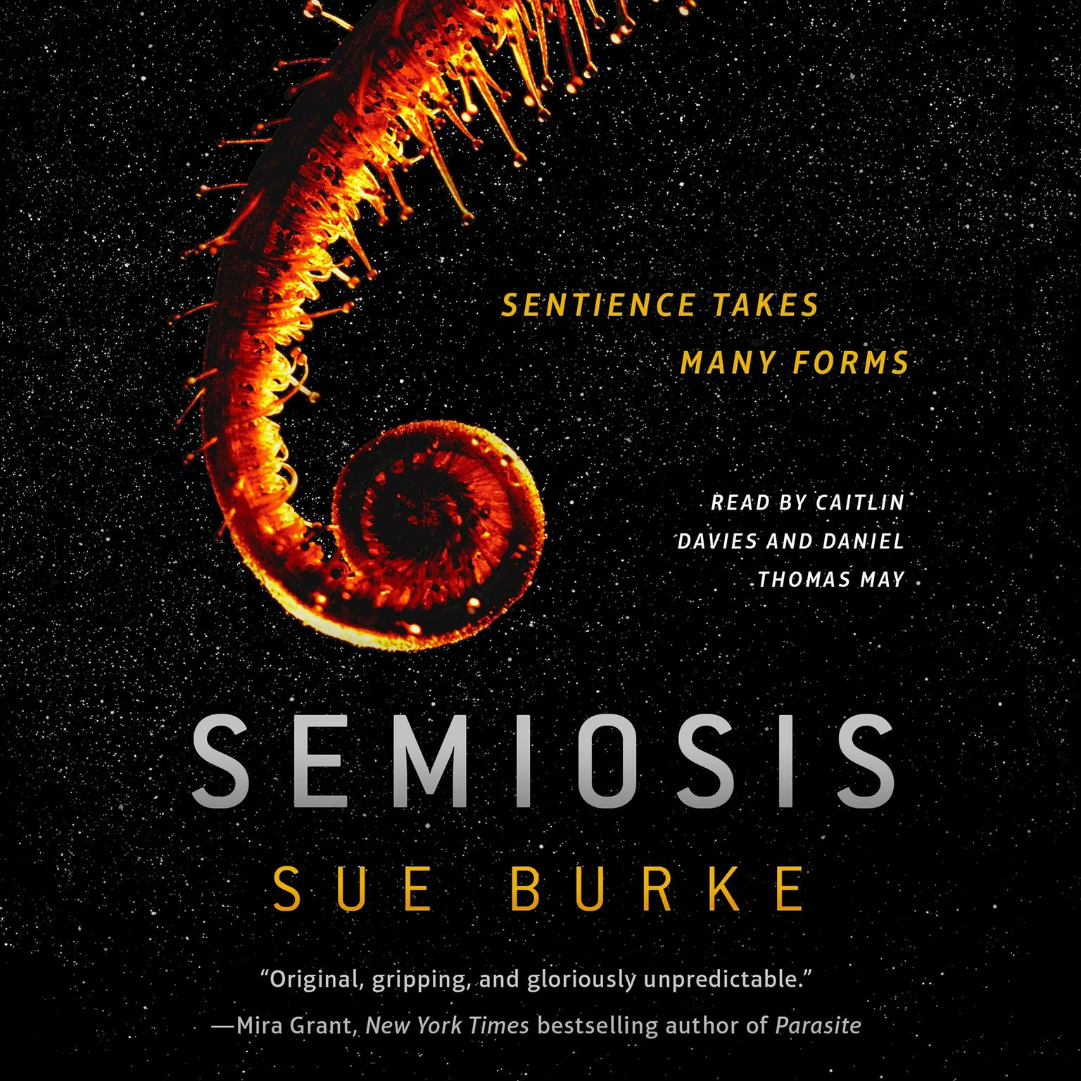 Printable Semiosis: A Novel Audiobook Cover Art