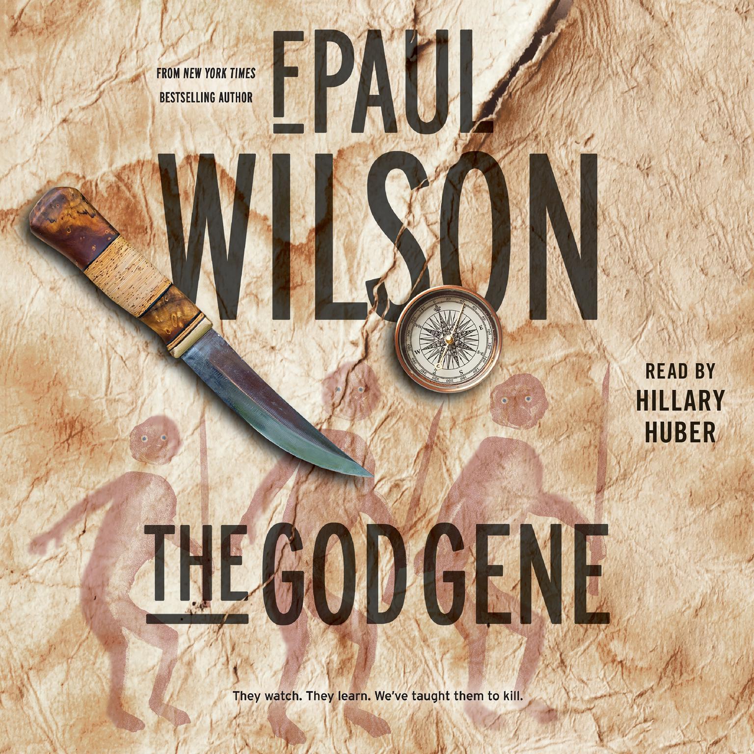 Printable The God Gene: A Novel Audiobook Cover Art