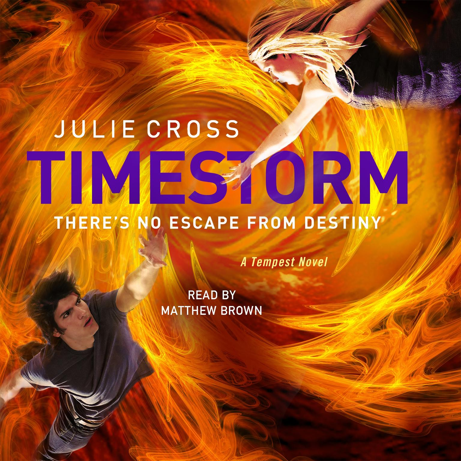 Printable Timestorm: A Tempest Novel Audiobook Cover Art