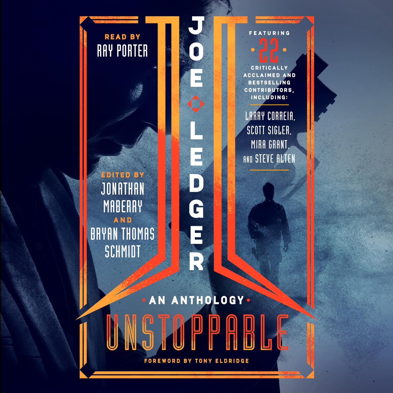 Printable Joe Ledger: Unstoppable Audiobook Cover Art