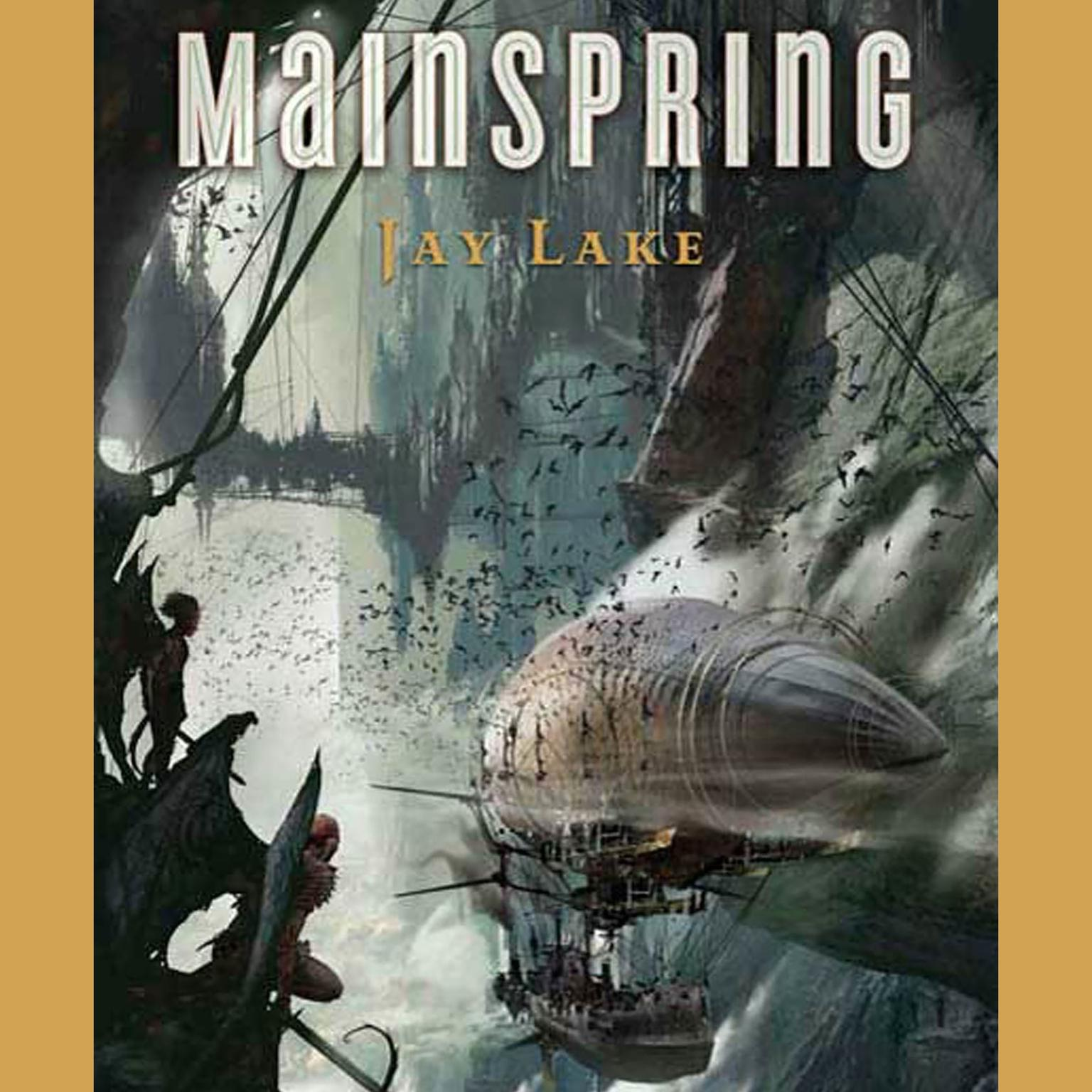 Printable Mainspring Audiobook Cover Art