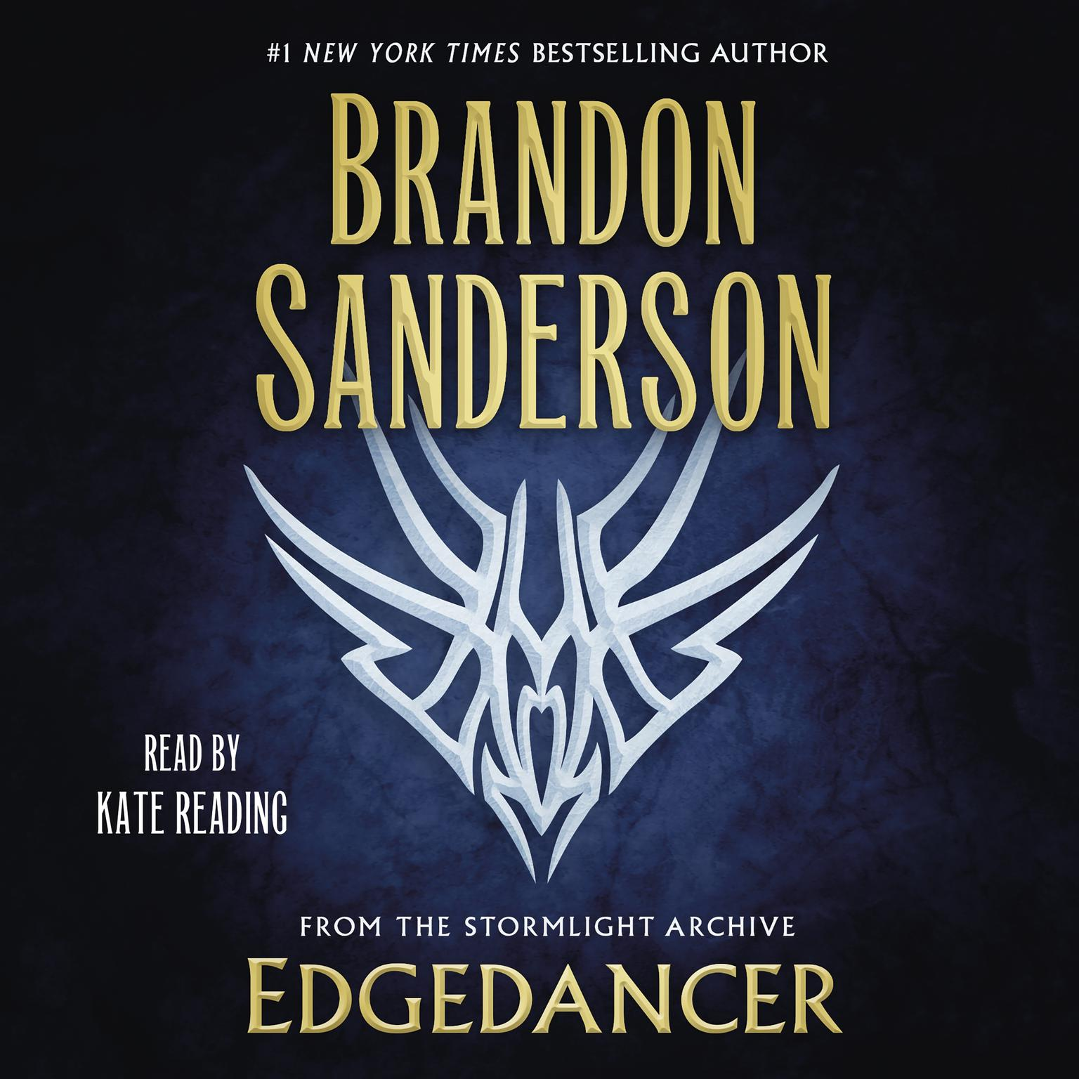 Printable Edgedancer: From the Stormlight Archive Audiobook Cover Art