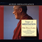 Stages of Meditation Audiobook, by The Dalai Lama