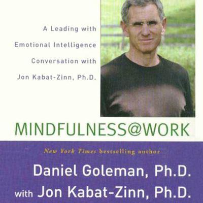 Mindfulness @ Work: A Leading with Emotional Intelligence Conversation with Jon Kabat-Zinn Audiobook, by Daniel Goleman