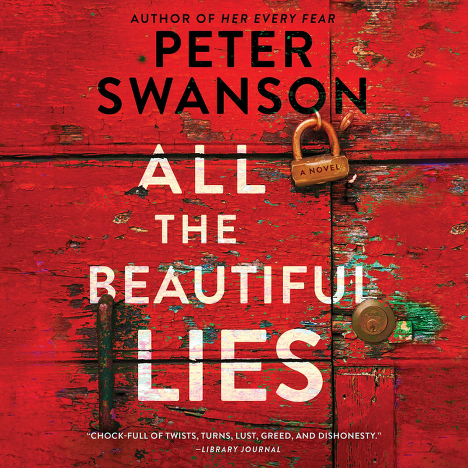Printable All the Beautiful Lies: A Novel Audiobook Cover Art