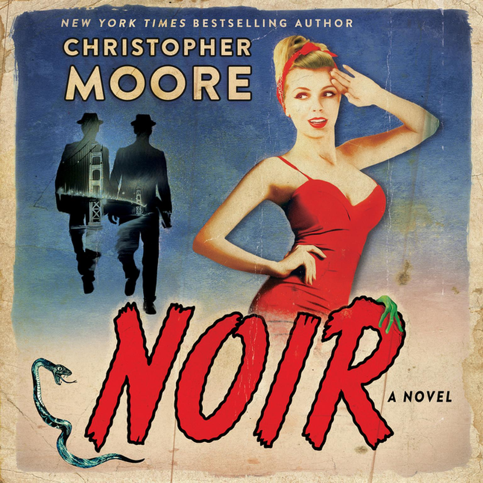 Printable Noir: A Novel Audiobook Cover Art