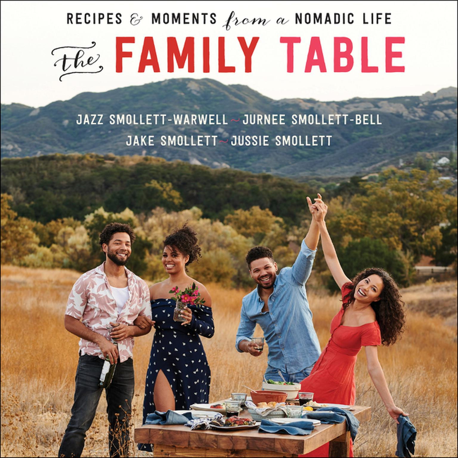 Printable The Family Table: Recipes and Moments from a Nomadic Life Audiobook Cover Art