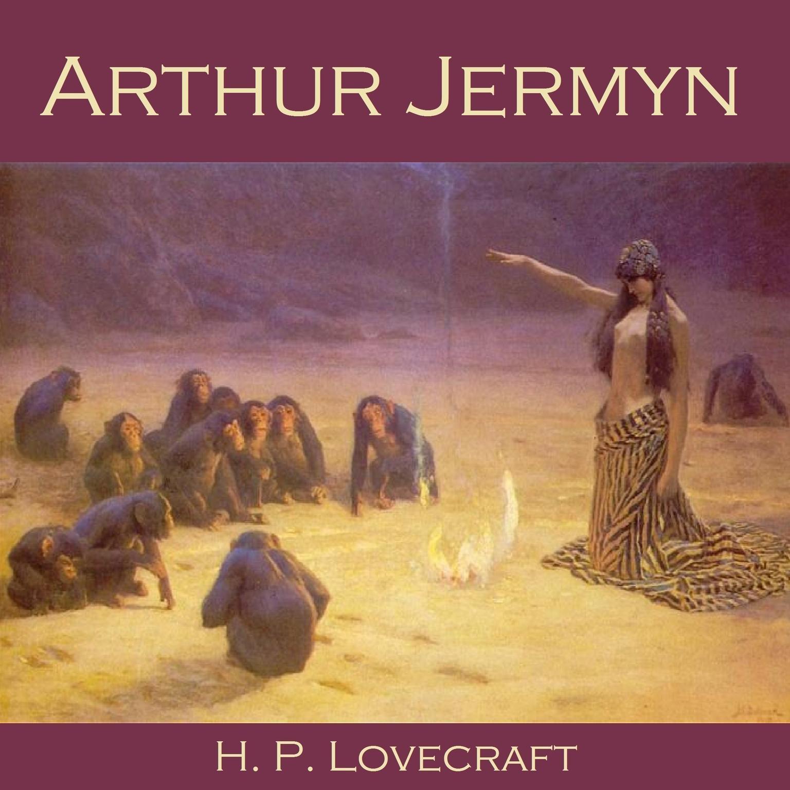 Printable Arthur Jermyn Audiobook Cover Art
