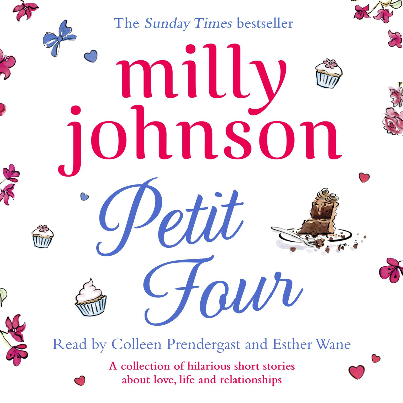 Printable Petit Four Audiobook Cover Art