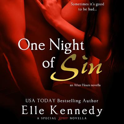 One Night of Sin Audiobook, by Elle Kennedy