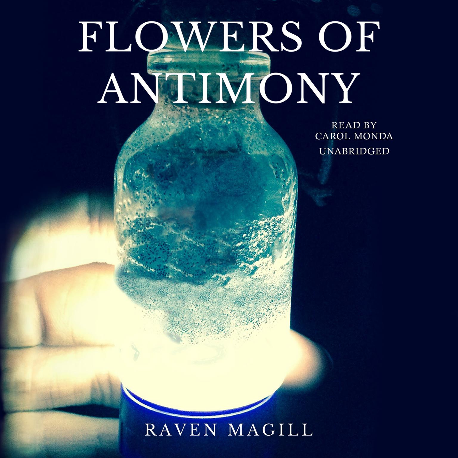 Printable Flowers of Antimony Audiobook Cover Art