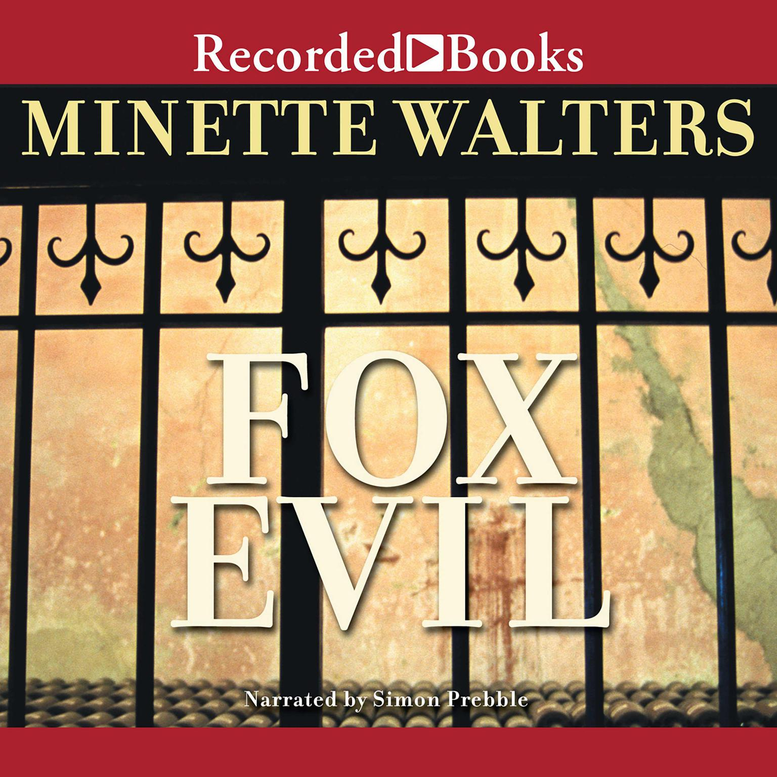 Printable Fox Evil Audiobook Cover Art