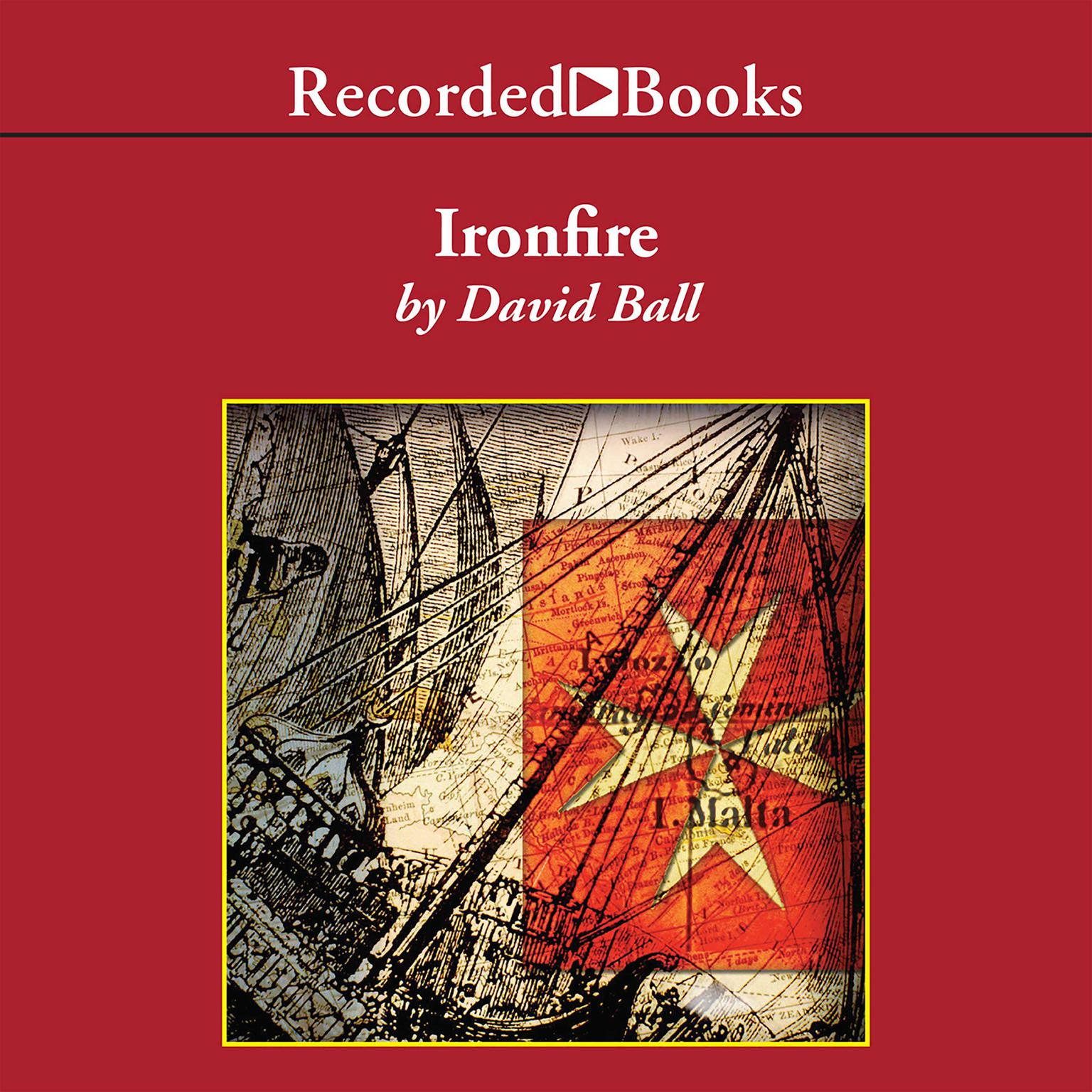 Printable Ironfire: An Epic Novel of Love and War Audiobook Cover Art