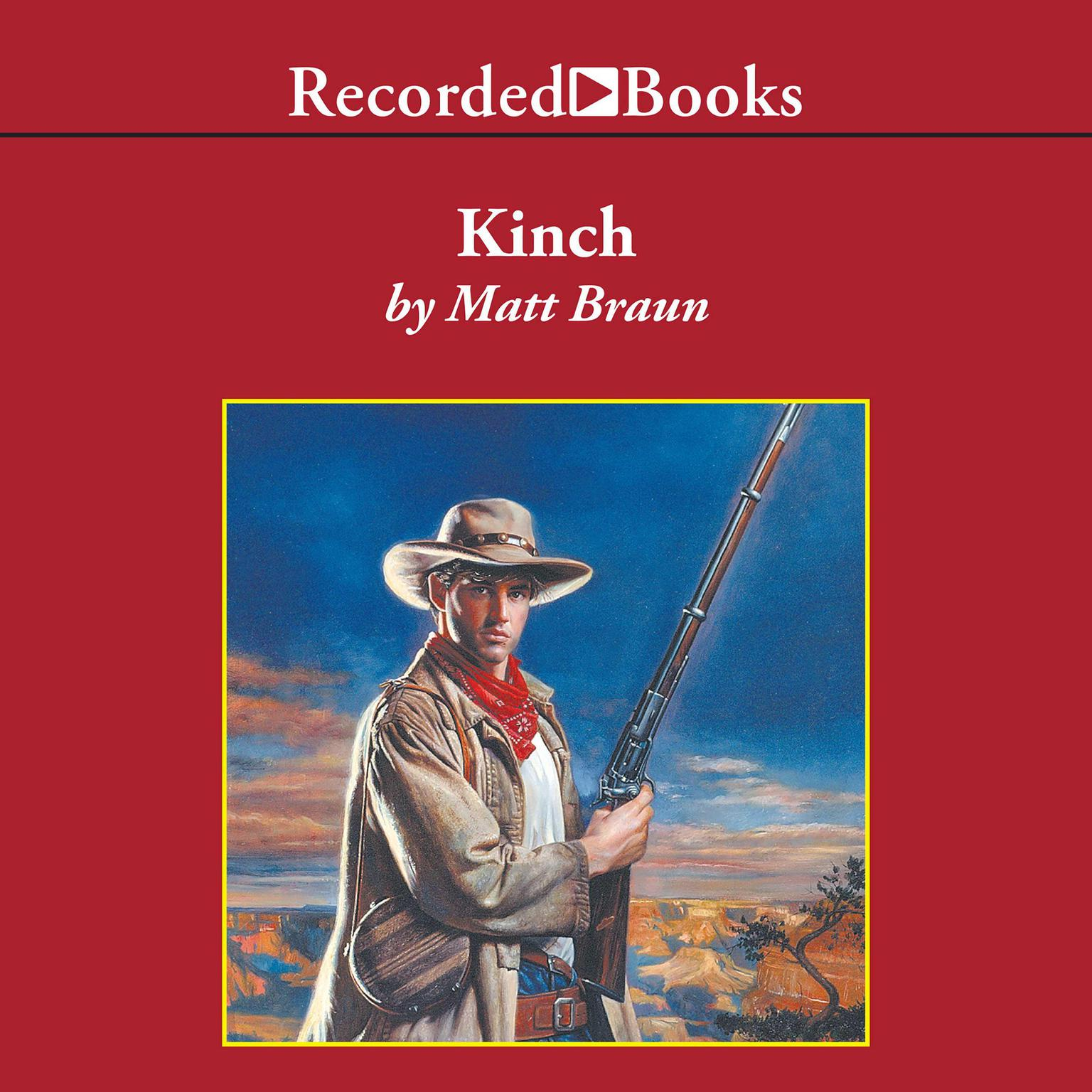 Printable Kinch Audiobook Cover Art