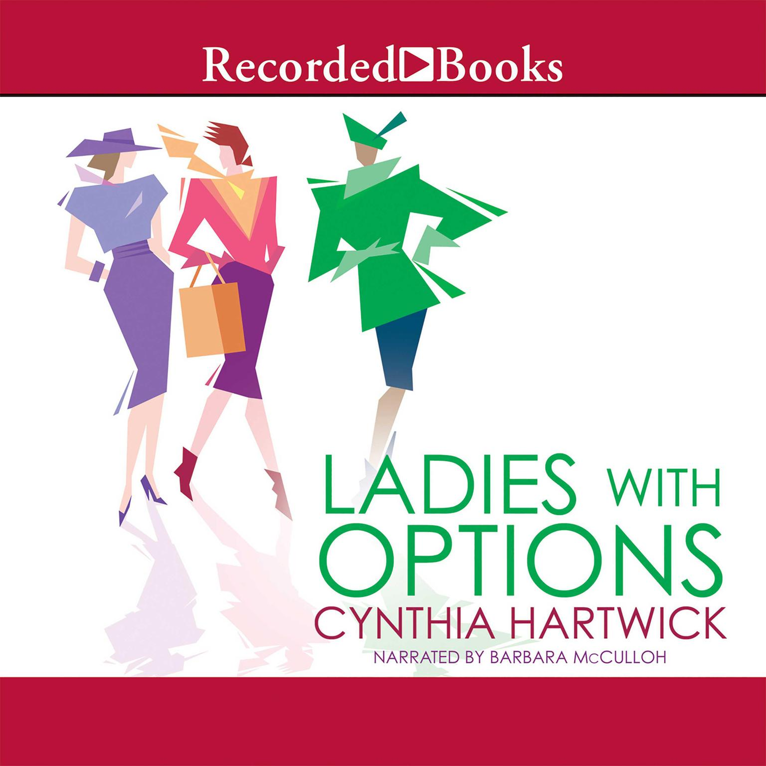 Printable Ladies with Options Audiobook Cover Art