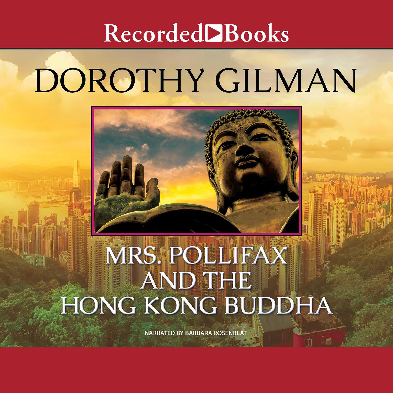 Printable Mrs. Pollifax and the Hong Kong Buddha Audiobook Cover Art