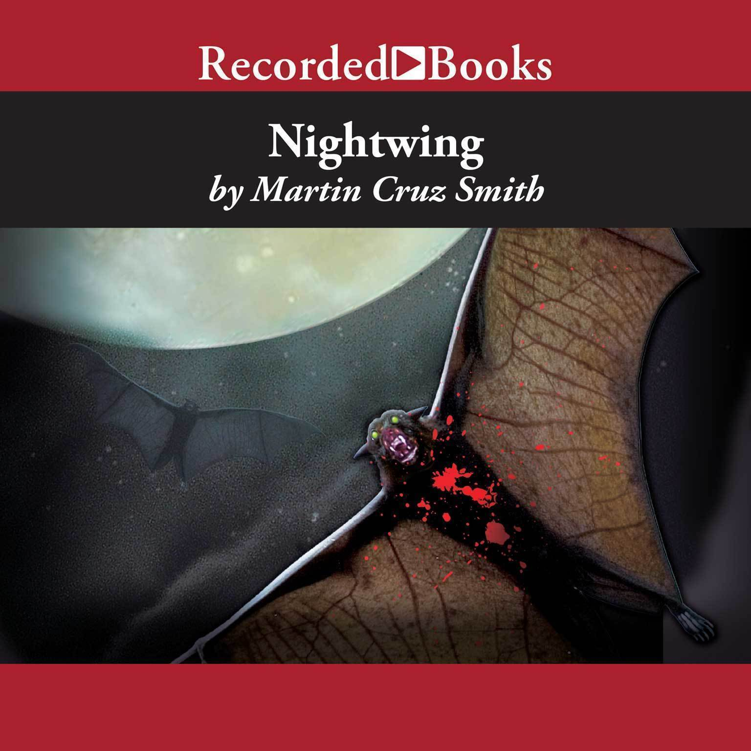 Printable Nightwing Audiobook Cover Art