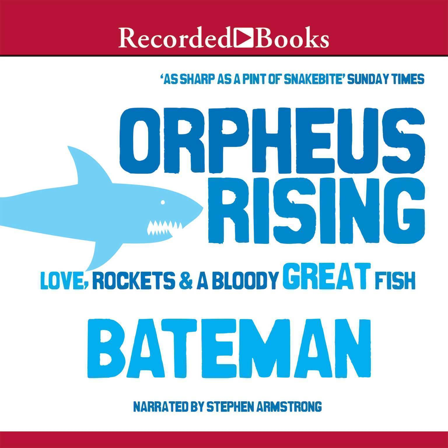 Printable Orpheus Rising Audiobook Cover Art
