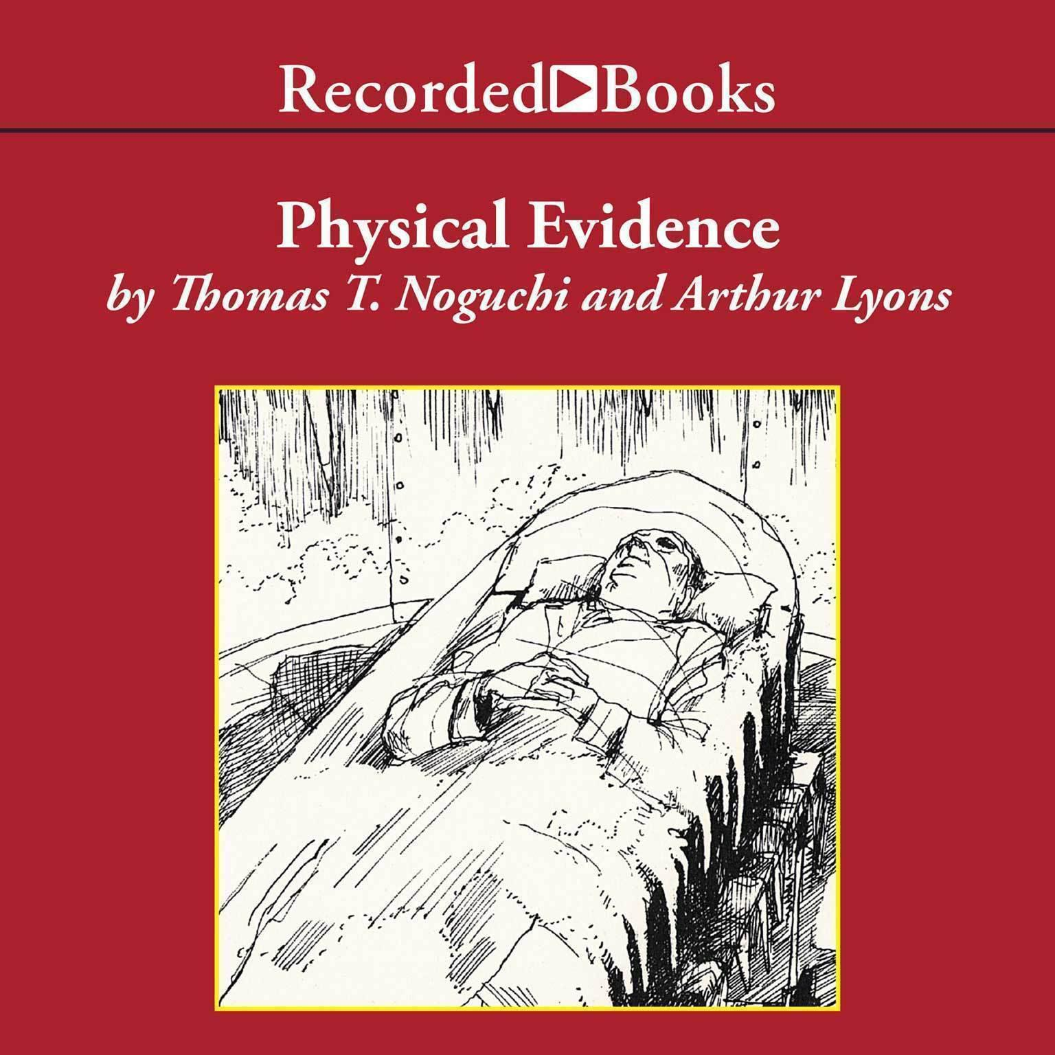 Printable Physical Evidence Audiobook Cover Art