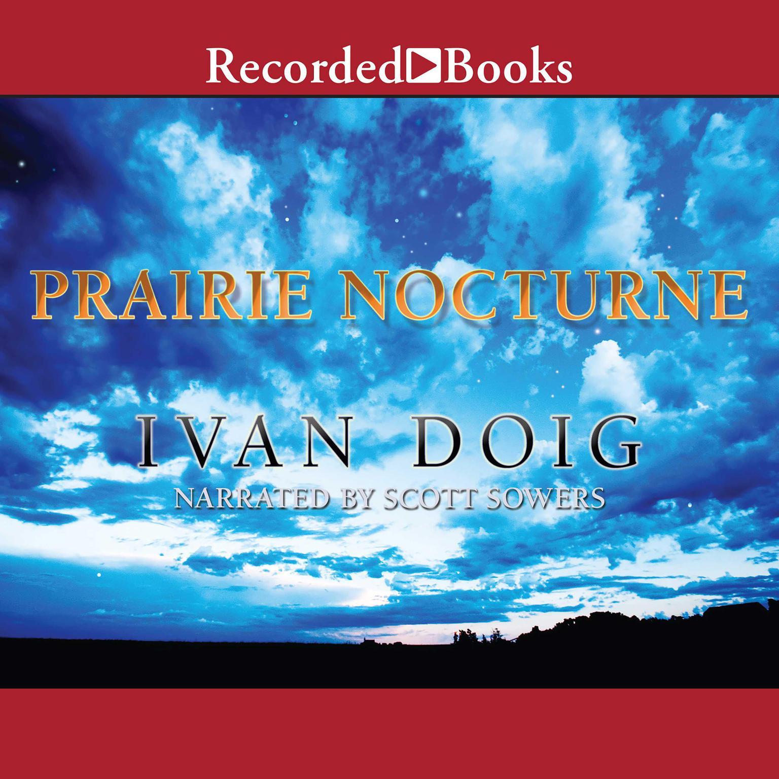 Printable Prairie Nocturne Audiobook Cover Art