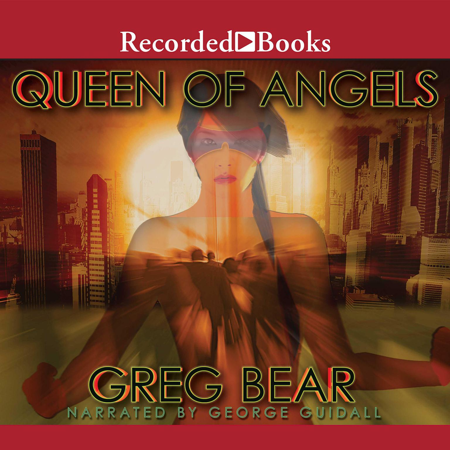 Printable Queen of Angels Audiobook Cover Art