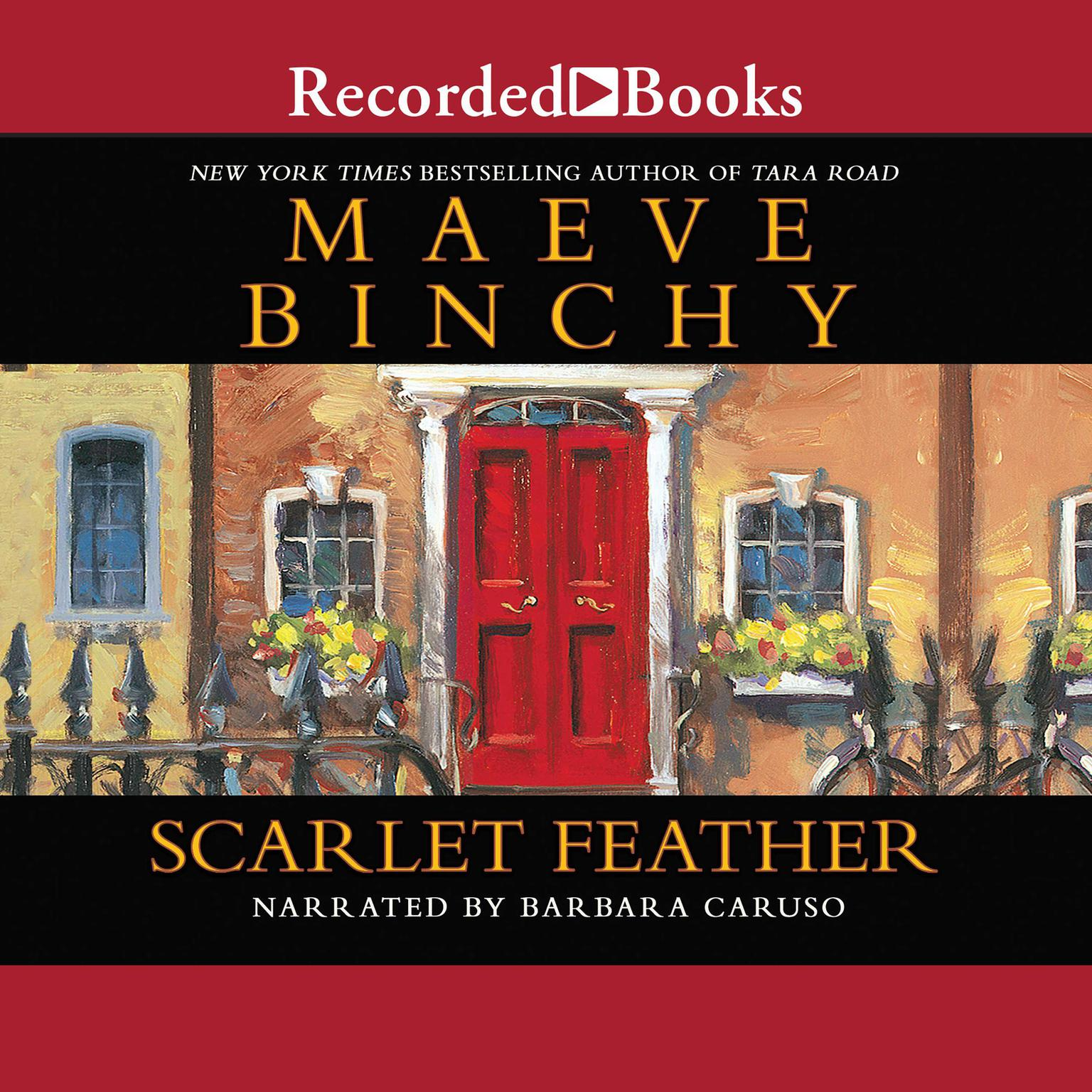 Printable Scarlet Feather Audiobook Cover Art
