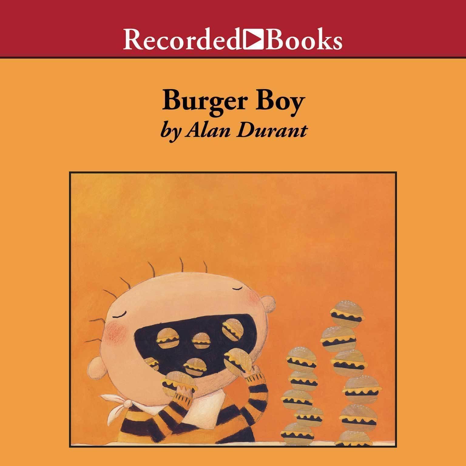 Printable Burger Boy Audiobook Cover Art