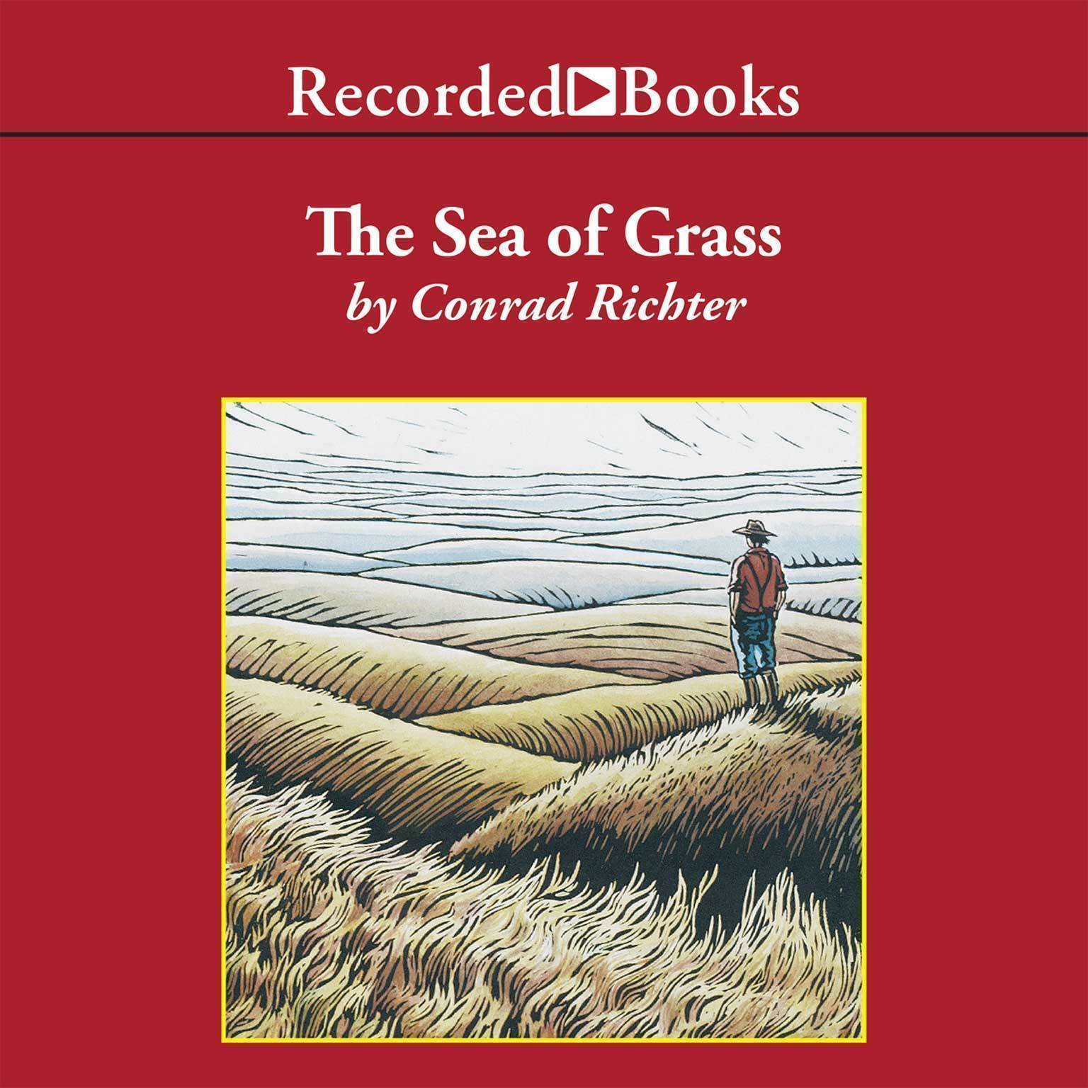 Printable The Sea of Grass Audiobook Cover Art