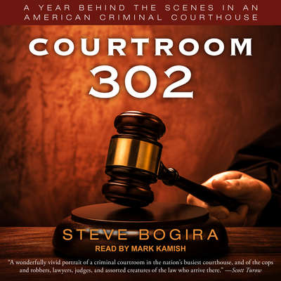 Courtroom 302: A Year Behind the Scenes in an American Criminal Courthouse Audiobook, by Steve Bogira