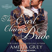 The Earl Claims a Bride Audiobook, by Amelia Grey