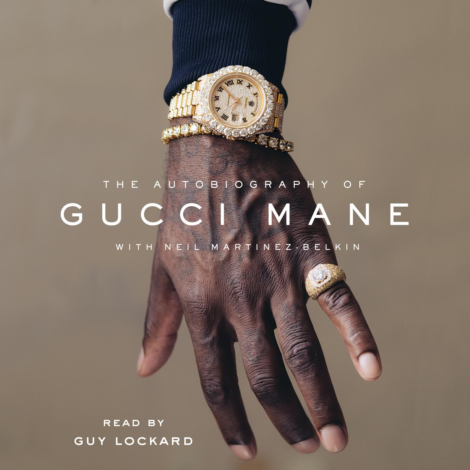 Printable The Autobiography of Gucci Mane Audiobook Cover Art