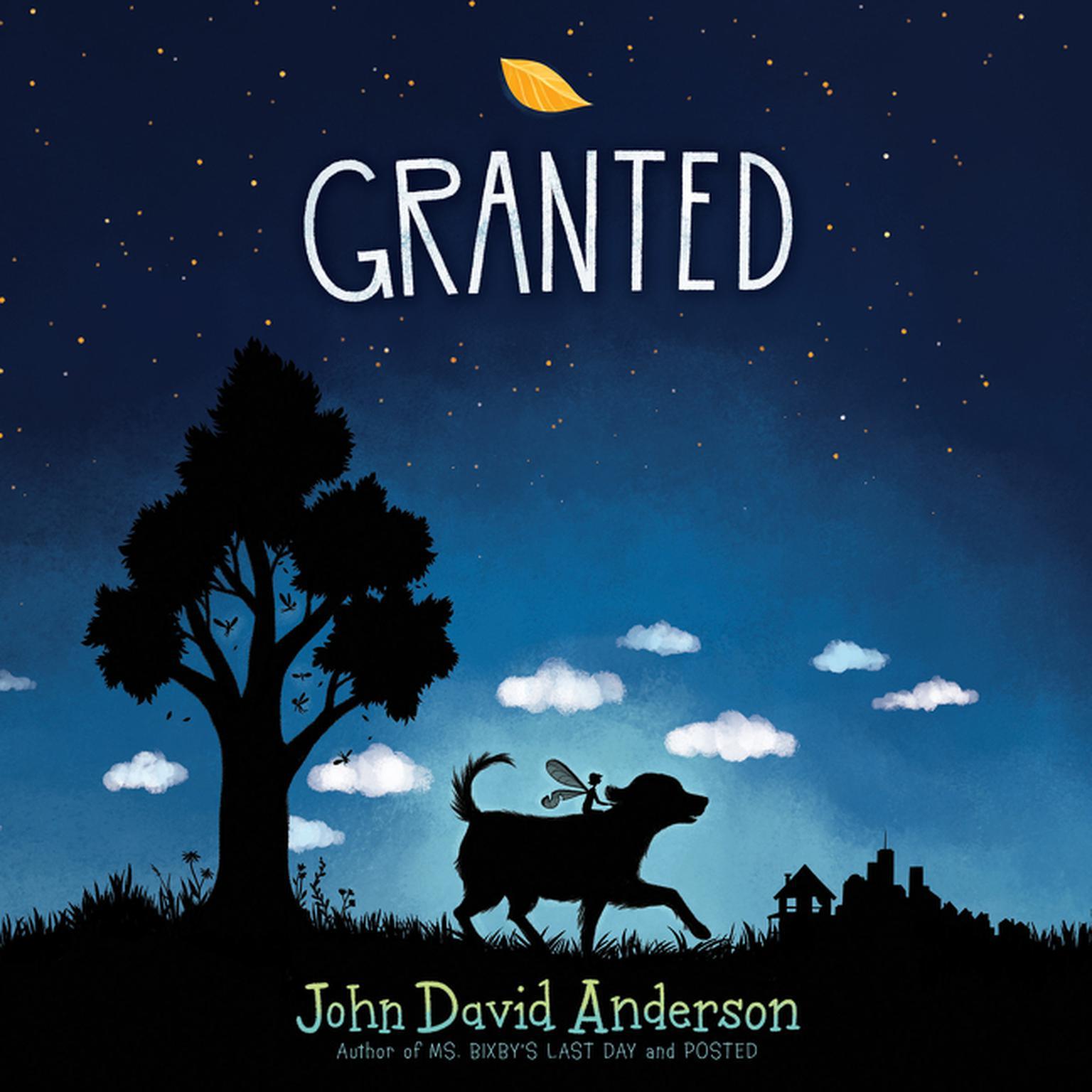 Printable Granted Audiobook Cover Art