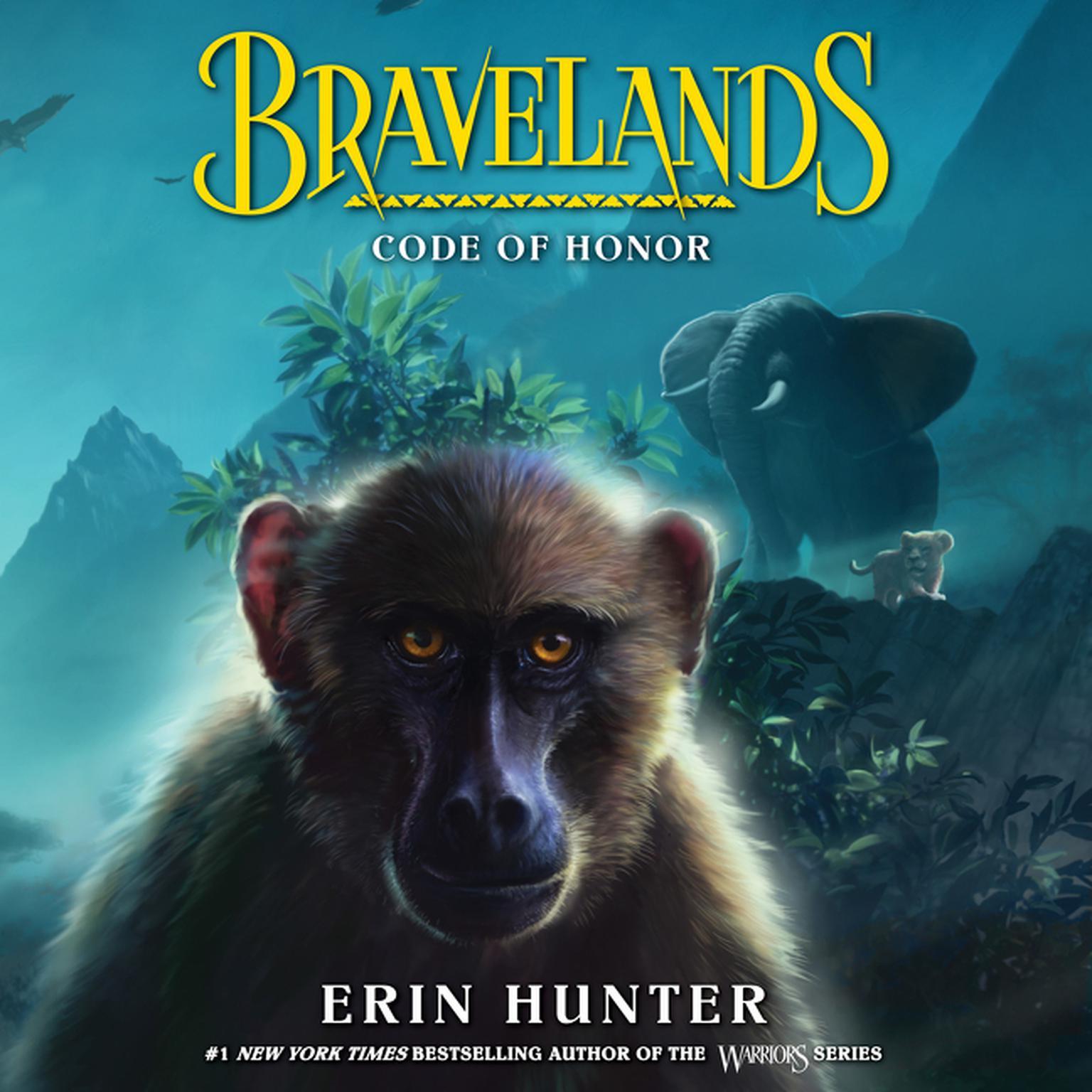 Bravelands #2: Code of Honor Audiobook, by Erin Hunter