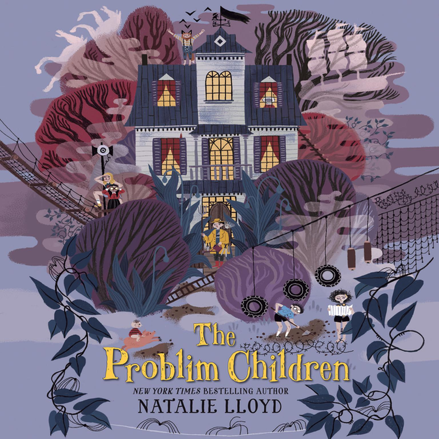Printable The Problim Children Audiobook Cover Art