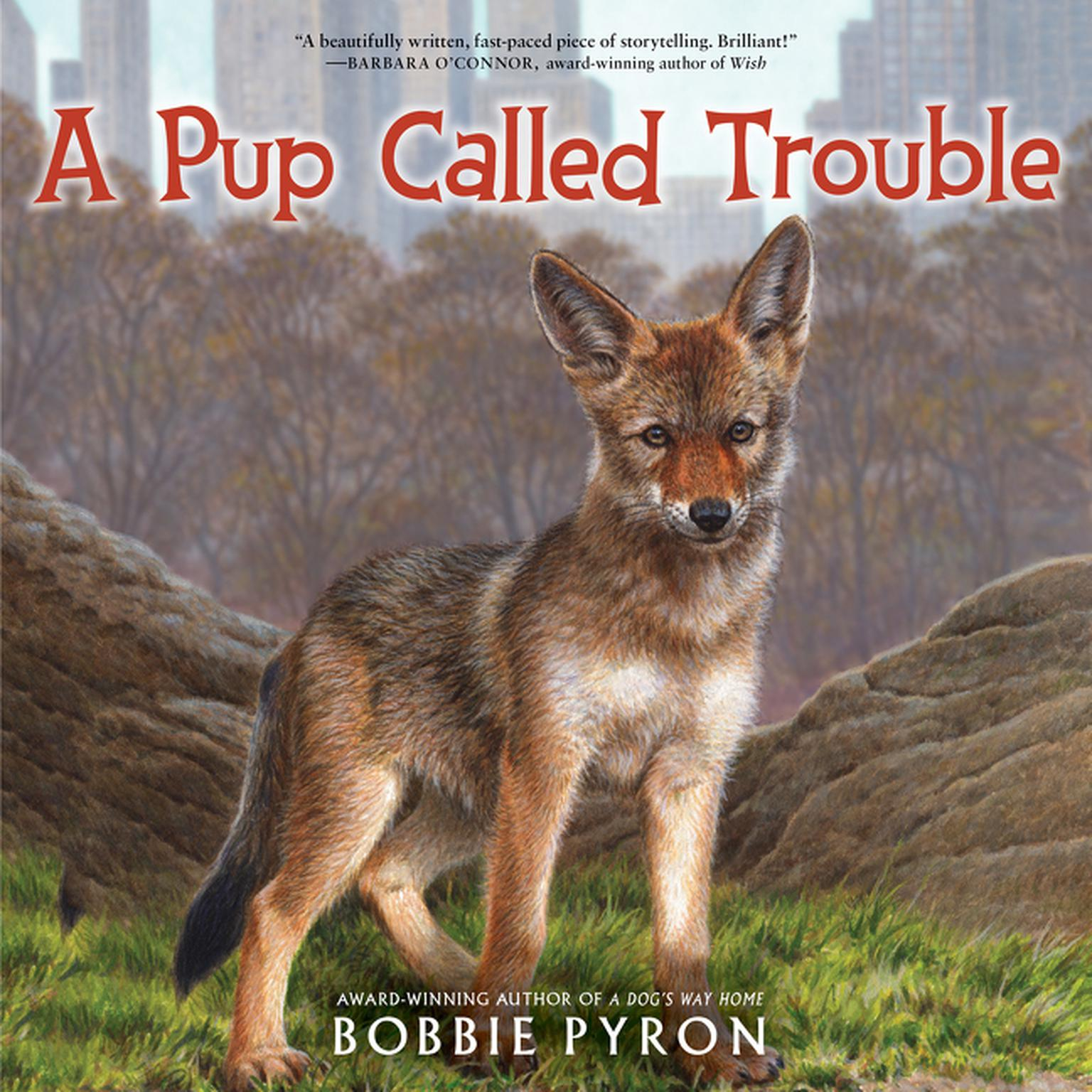 Printable A Pup Called Trouble Audiobook Cover Art