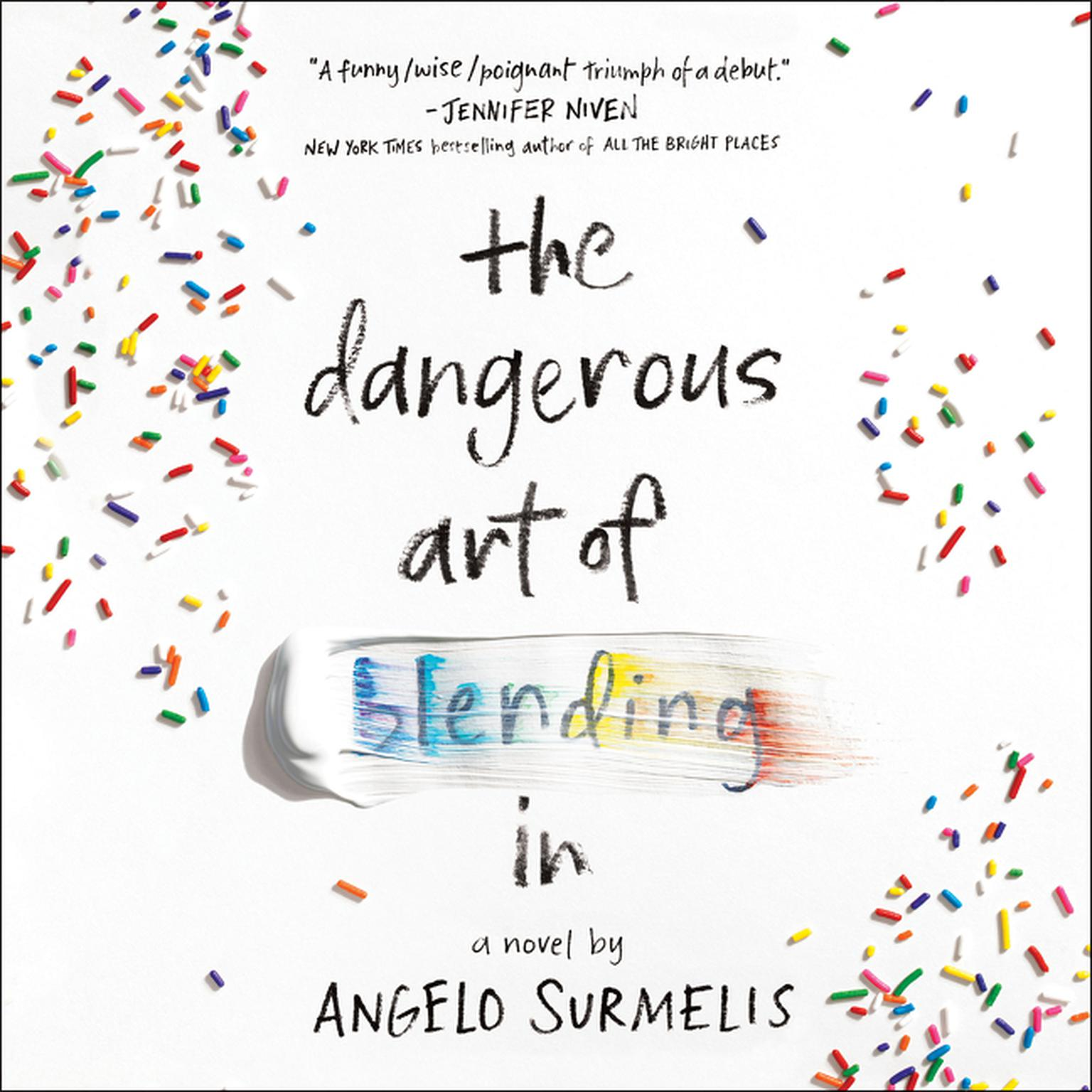 Printable The Dangerous Art of Blending In Audiobook Cover Art