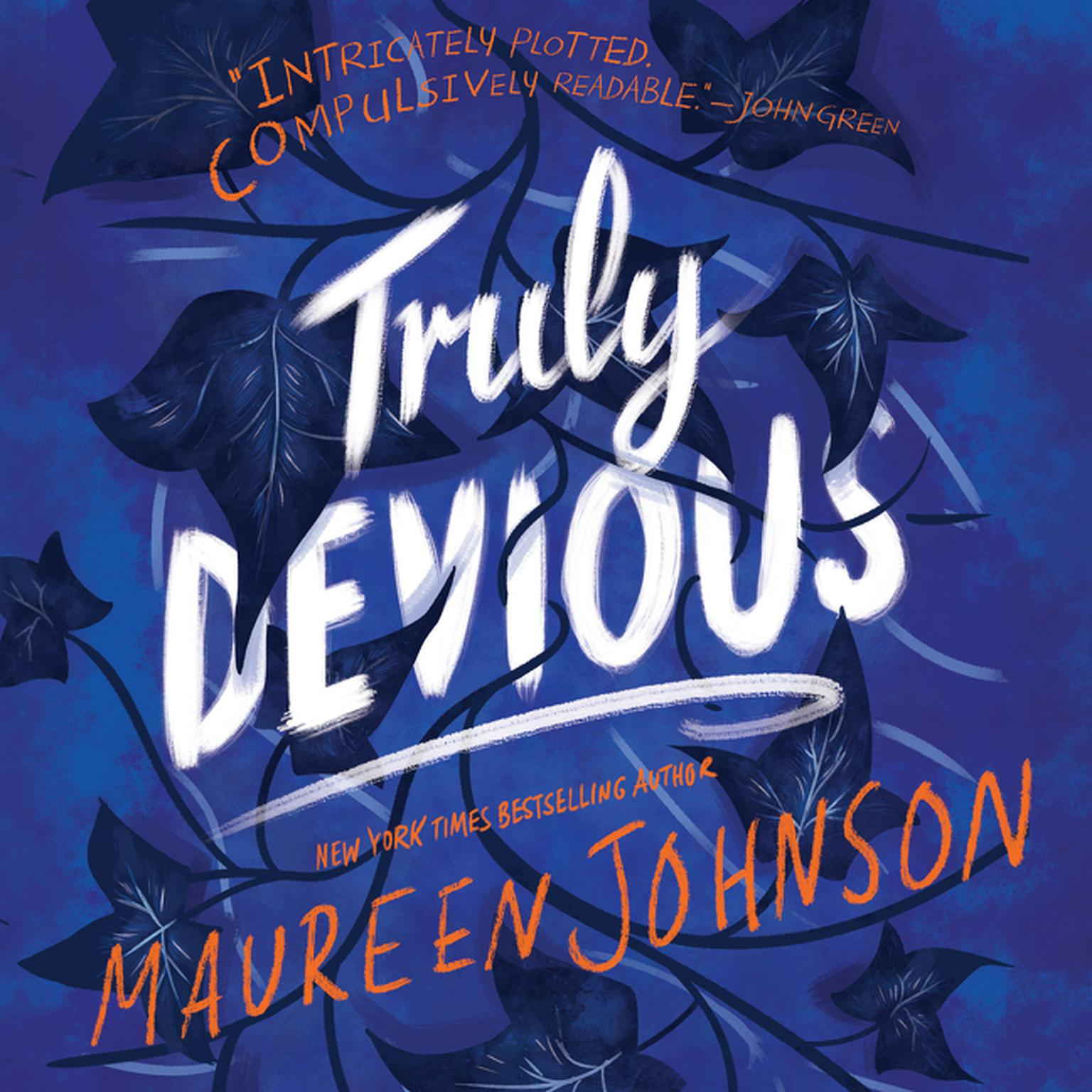 Printable Truly Devious: A Mystery Audiobook Cover Art