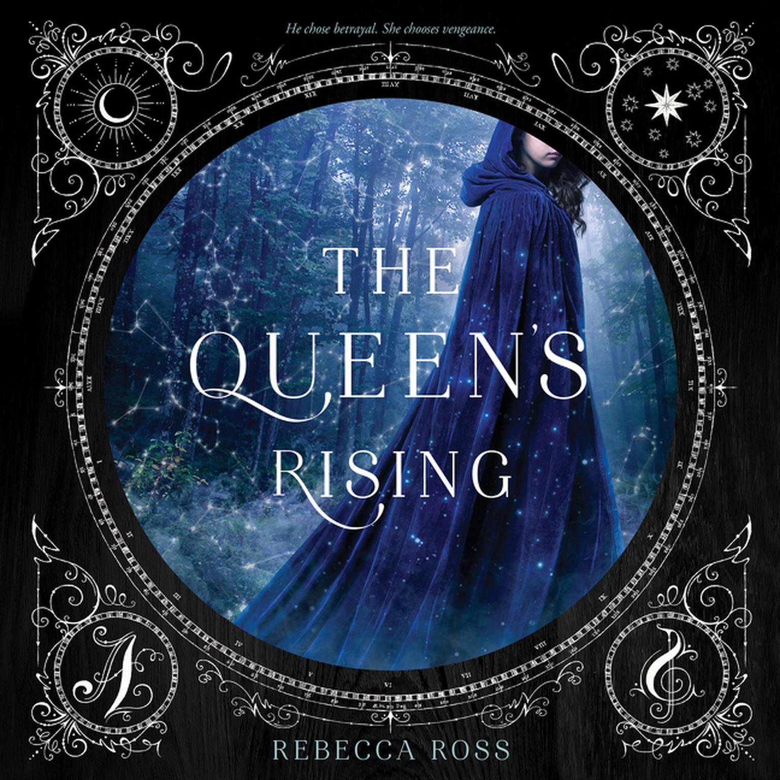 Printable The Queen's Rising Audiobook Cover Art