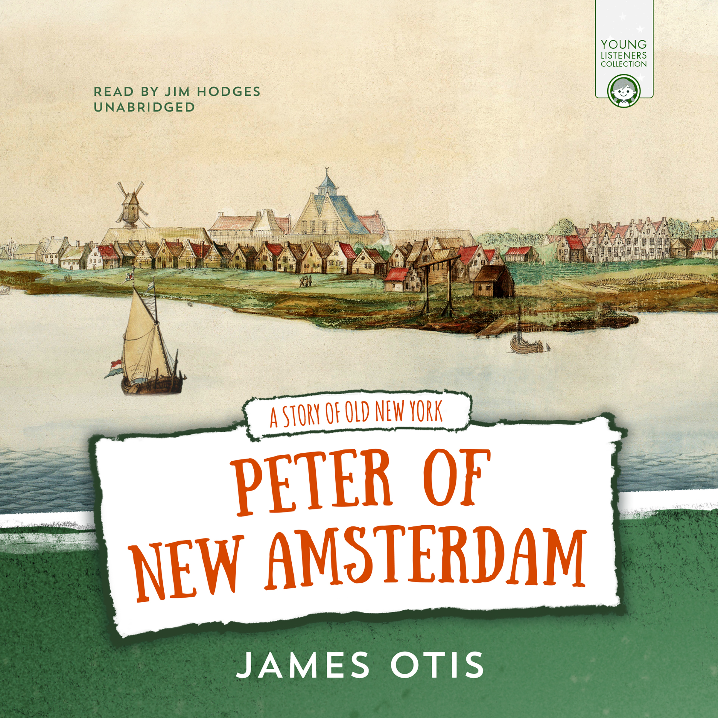 Printable Peter of New Amsterdam: A Story of Old New York Audiobook Cover Art