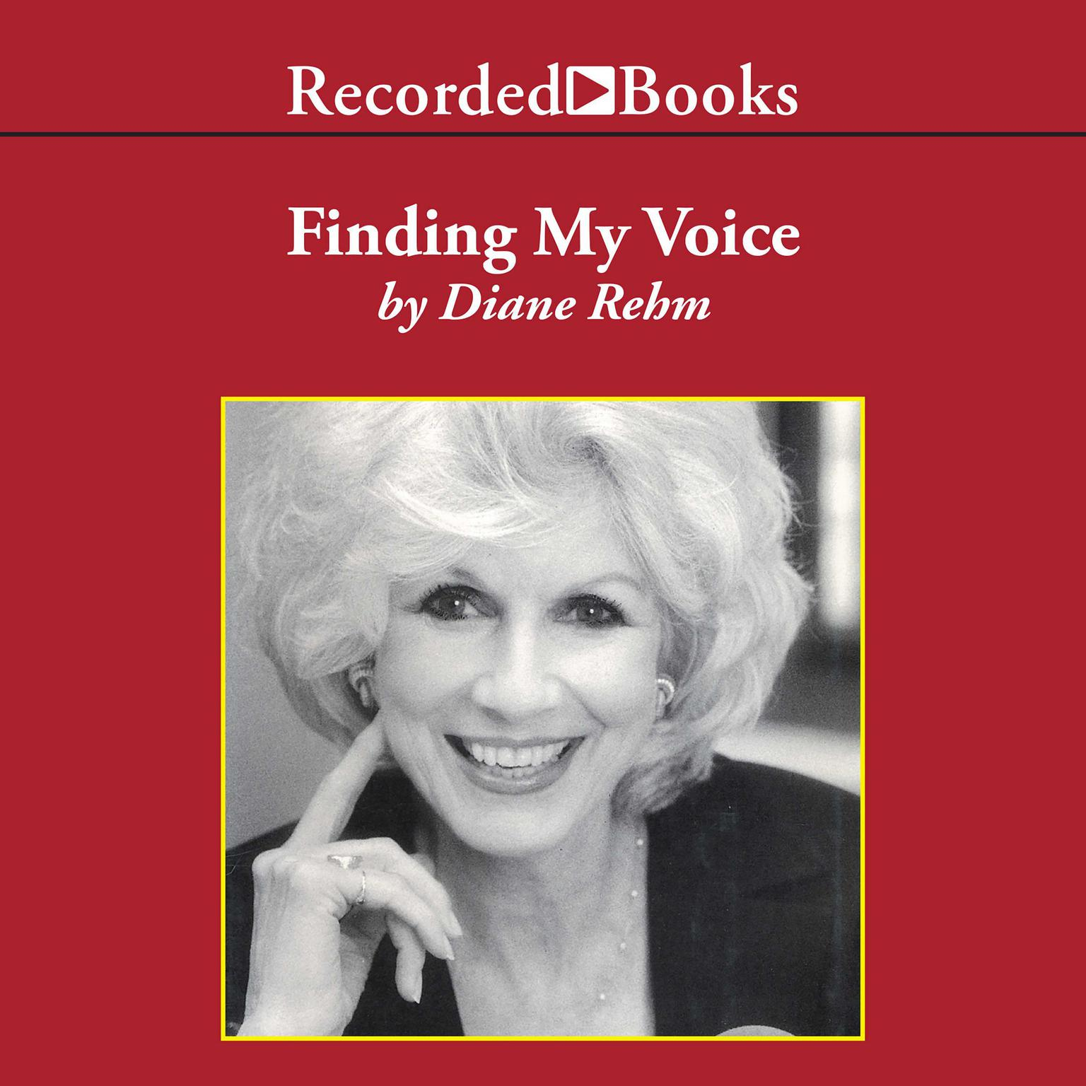 Printable Finding My Voice Audiobook Cover Art