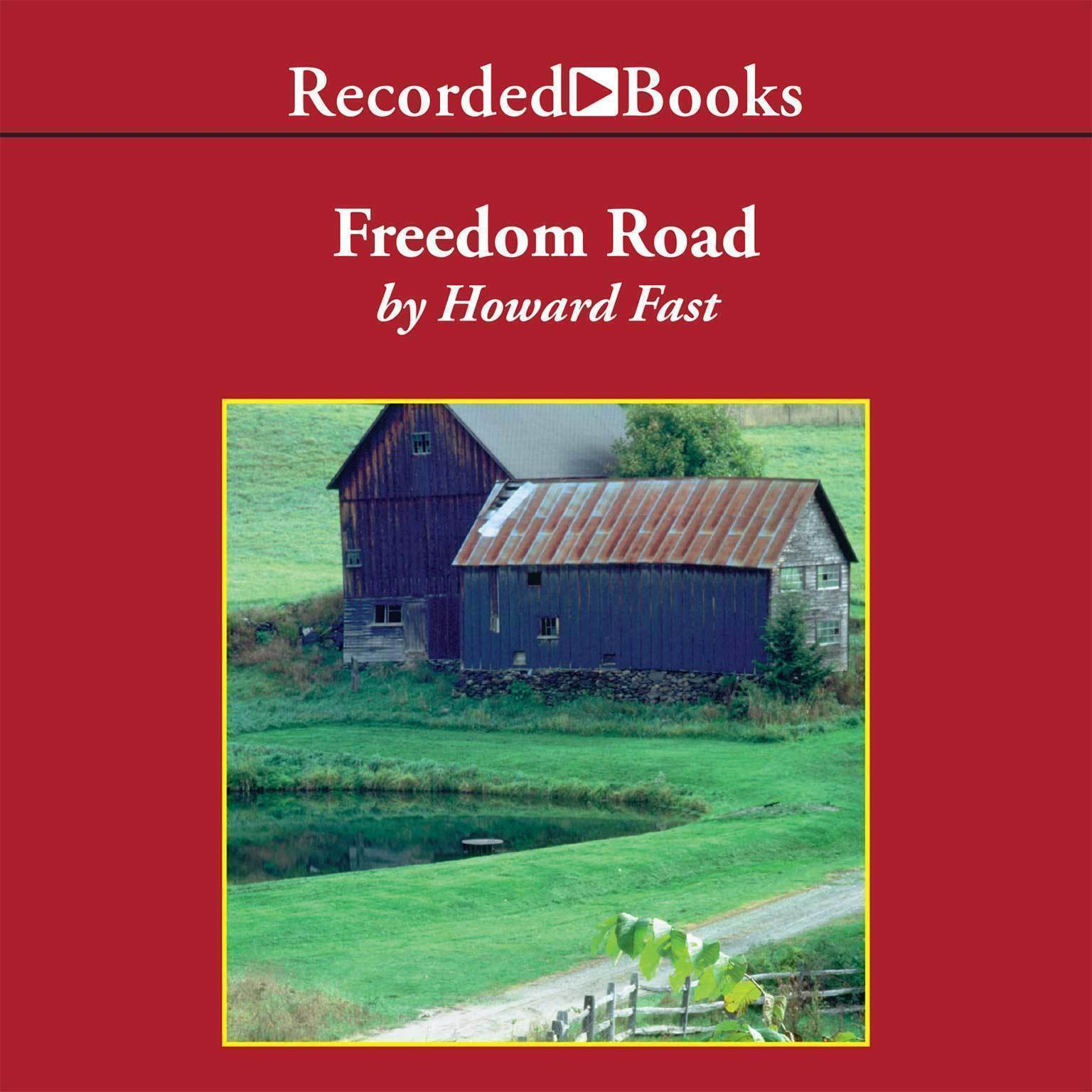 Printable Freedom Road Audiobook Cover Art
