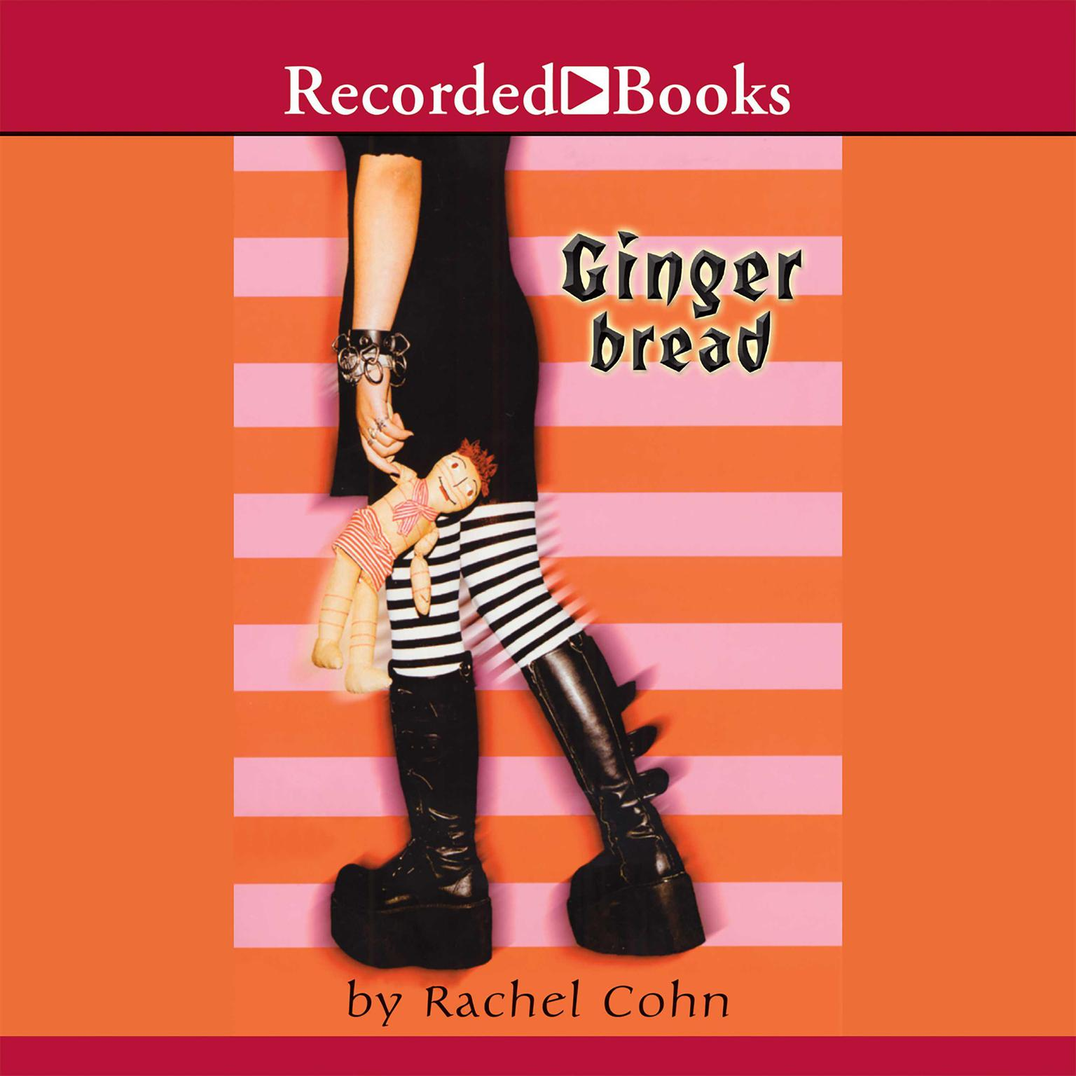 Printable Gingerbread Audiobook Cover Art