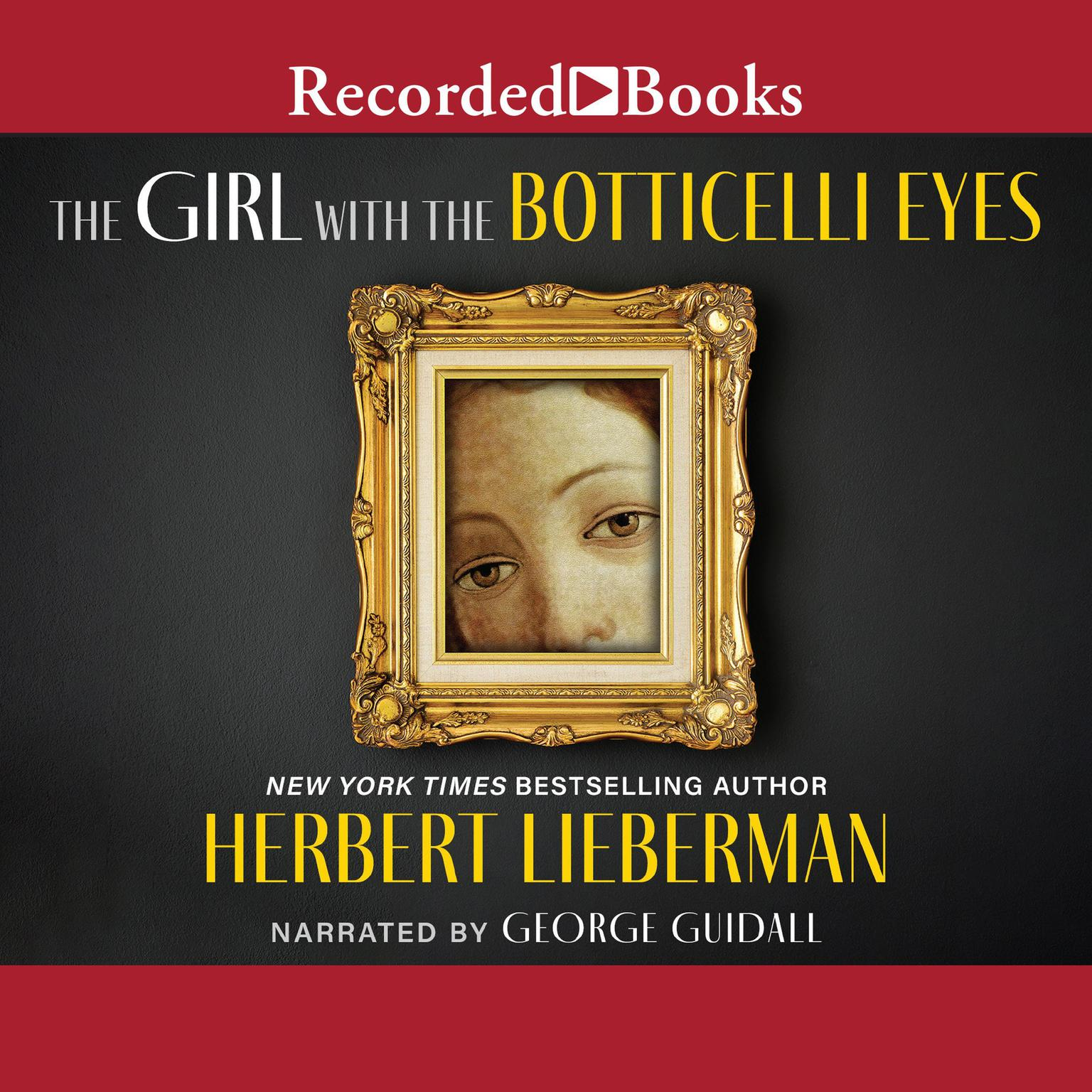 Printable The Girl with the Botticelli Eyes Audiobook Cover Art